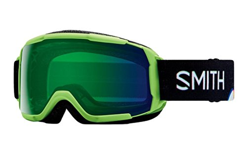 - Smith Optics Grom CP Goggle - Reactor Tracking Frame/ChromaPop Everyday Green Mirror