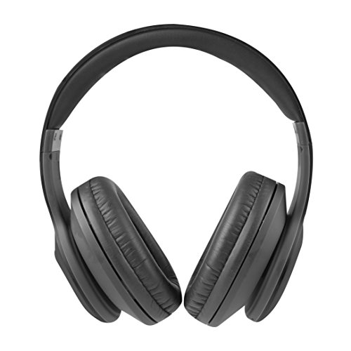 Altec Lansing MZX300-BLK Bluetooth Headphones Wireless Over Ear, Black