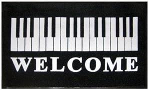 Gift House Piano Keys Door Mat