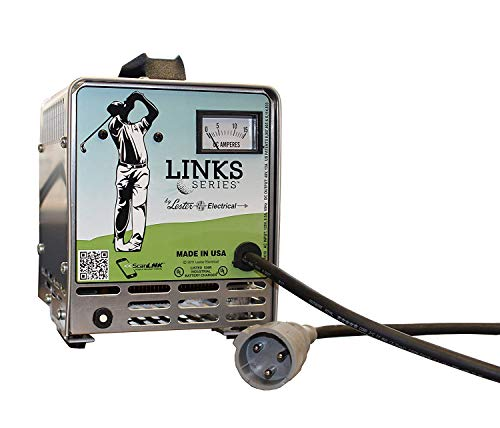 (Battery Charger, Lester Link Series, 48V Club Car PowerDrive Plug)