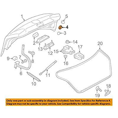 Volkswagen OEM 1K0899185 PLUG: Automotive