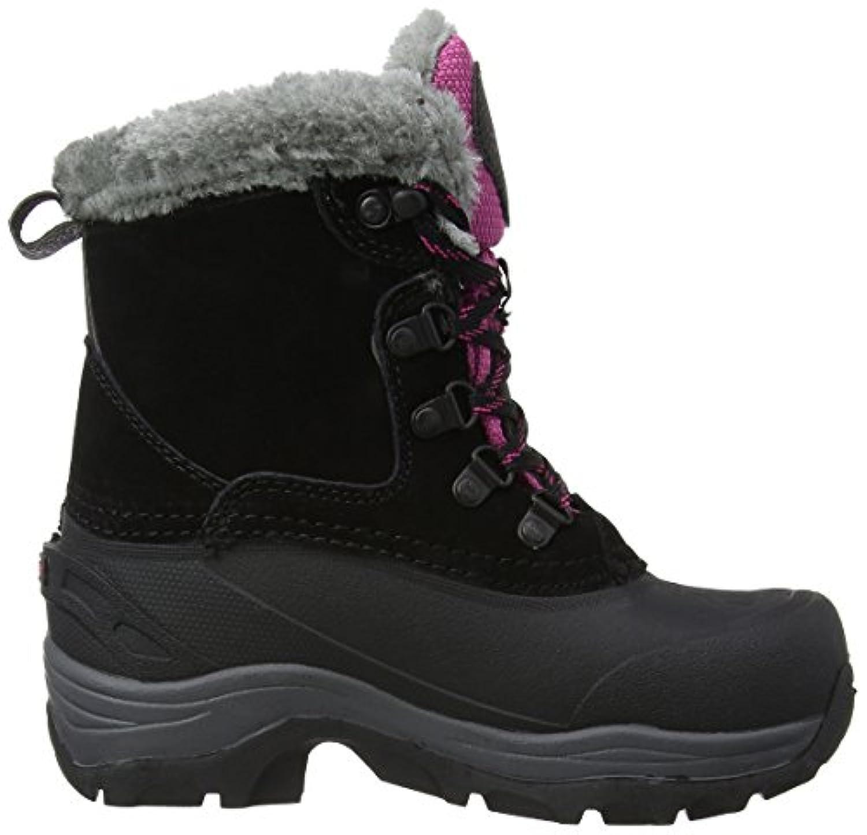 Karrimor Unisex-Child Suede Snow Kids Weathertite Boots K771 Black/Pink 2 UK, 34 EU
