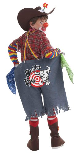 Forum Novelties Rodeo Clown Complete Costume, Child's Small (Fantasy Clown Childrens Costumes)