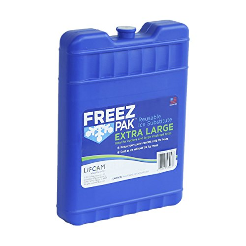 Lifoam 4943 The Glacier Reusable Ice Hard Pack, 62 Ounces, Extra Large, N