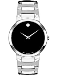 Movado Mens 605903 Temo Stainless-Steel Bracelet Watch