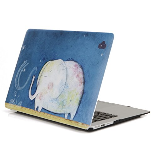 YMIX  Plastic Cover Snap on Hard Protective Case for MacBook