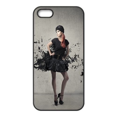 Dress Spray Paint Pattern Gray Background Abstract 76453 coque iPhone 4 4S cellulaire cas coque de téléphone cas téléphone cellulaire noir couvercle EEEXLKNBC24730