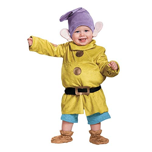 Baby/Toddler Dopey Deluxe Infant Costume (Boy Fairy Ideas Costume)