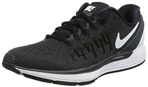 Nike Wmns Air Zoom Odyssey 2, Zapatillas de Running para Mujer Negro (Negro (black/summit white-anthracite))
