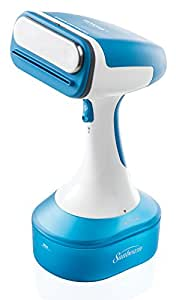 Sunbeam Hand Held Garment Steamer W/10' 360 Degree Swivel Cord for Tangle-Free Steaming, GCSBHS-100-000