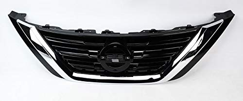 - Front Grille fits Nissan Altima | 2016 2017 2018 | ABS Chrome Replaces NI1200283 | by JX Accessories