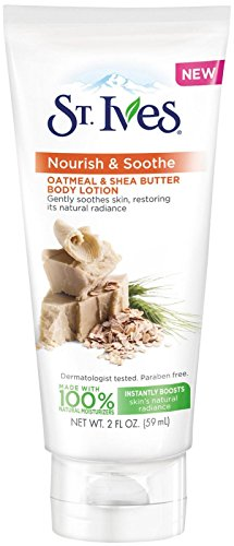St. Ives Body Lotion Naturally Soothing - Oatmeal and Shea B