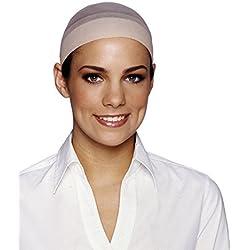 Costume Culture Women's Wig Cap, Black, One Size