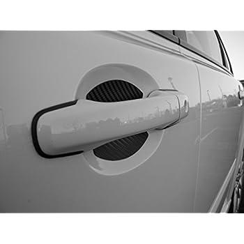 Amazoncom Carbon Fiber Auto Accessory Car Door Handle Scratch