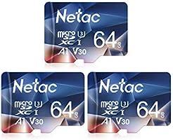 Netac microsd カード 16GB microSDXC UHS-I 読取り最大90MB/s 600X U1 C10 フルHD ビデオV10 A1 FAT32 高速フラッシュTFカード Nintendo Switch対応...