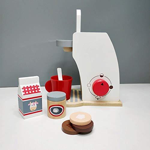 Juguetes para niños Cafetera de madera Desayuno combinado Té ...