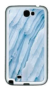 Samsung Note 2 Case Ice TPU Custom Samsung Note 2 Case Cover White