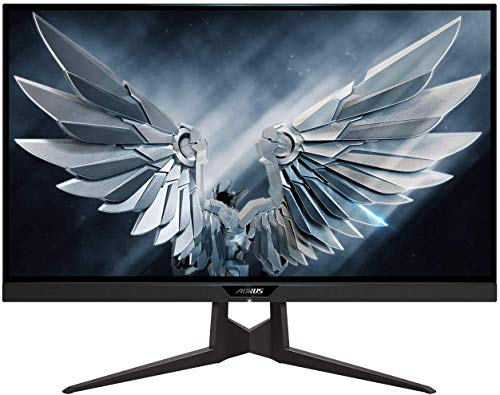 AORUS FI27Q 27 INCH 165Hz QHD 1440P G-Sync Compatible and FreeSync Gaming Monitor, Exclusive Built-in ANC, 2560x1440 Display, 1 MS Response time, HDR, 95% DCI-P3