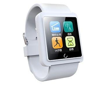 Smartwatch U10 L montre connectée Bluetooth (Apple/Android/Windows) - blanc