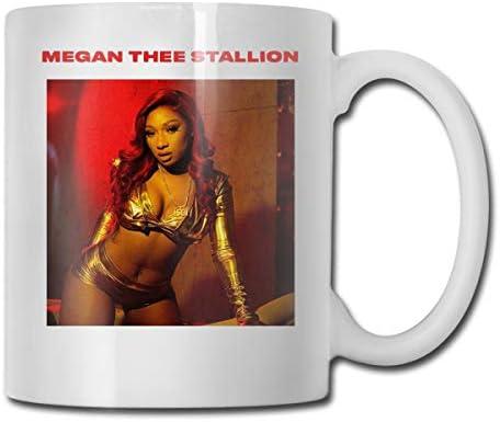 DanaEPeterson Megan Thee Stallion Mug 11 Ounce Ceramic Coffee Mug Novelty Mug Cup