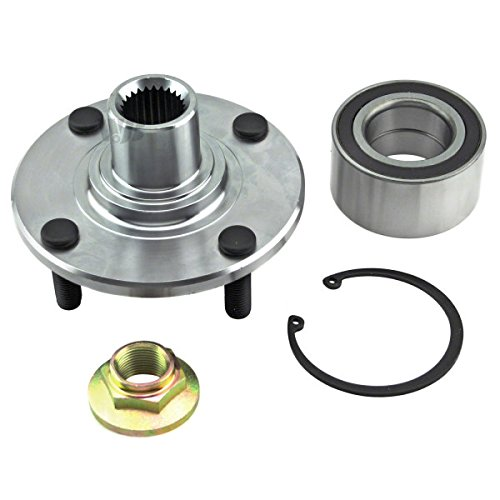 WJB WA518510 - Front Wheel Hub Bearing Assembly - Cross Reference: Timken HA590263K / Moog 518510 / SKF (Ford Focus Wheels)