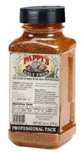 Pappy's Choice Salt Free Seasoning (24 Oz Professional Pack)