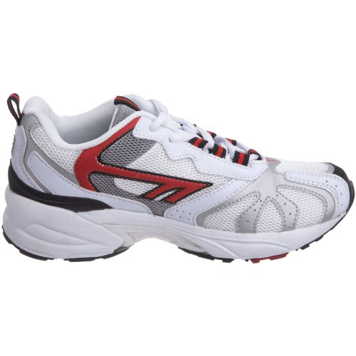 Hi-Tec P40 Jr - Zapatillas de correr para niño blanco - White/silver/red