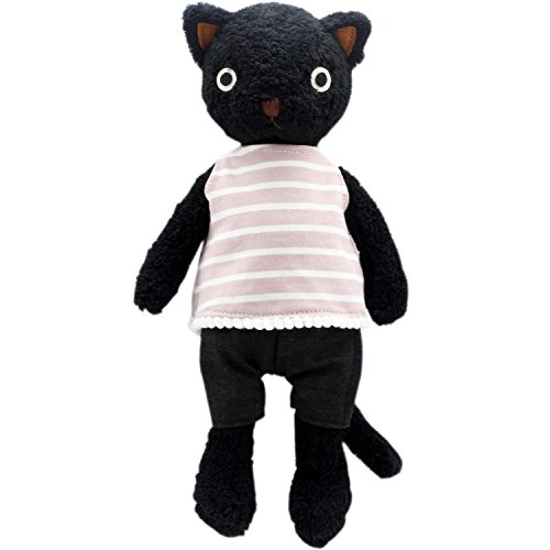 - JIARU Stuffed Animals Cats Toys Plush Dressed Dolls with Removable Clothes (Black-1, 20 Inch)