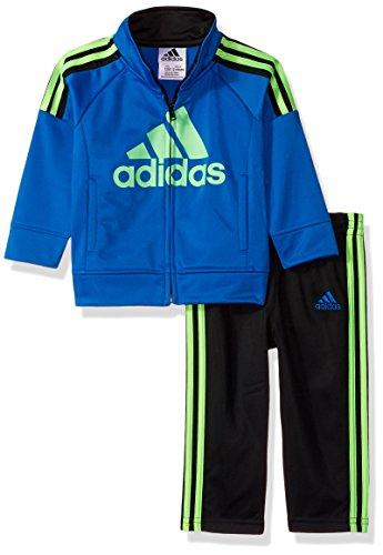 adidas-Baby Boy hacer su marca del Juego de los niños Disfraz, color azul brillante, 12M