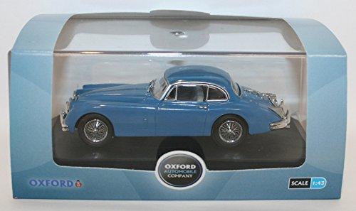 Models Scale Campbell (Oxford Diecast Jagxk150006 Jaguar Xk150 Coupe Bluebird Blue - D Campbell By)