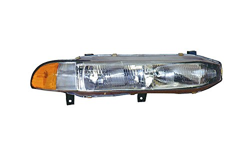 Depo 314-1101R-ASD Mitsubishi Galant Passenger Side Replacement Headlight Assembly with Corner Light