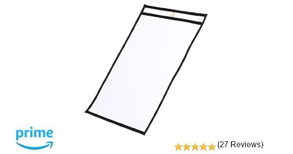 Amazon.com : Job Shop Ticket Holders / Dry Erase Pockets, 9