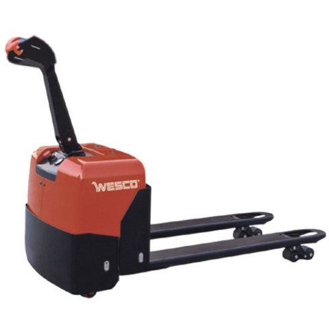 Wesco Deluxe Self-Propelled Electric Power Pallet Truck, 3300 Lb.