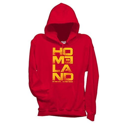 Homeland Homeland Style Dress by M Logo MUSH Rossa Rossa Rossa Donna Your Film Felpa Pq5wfa0