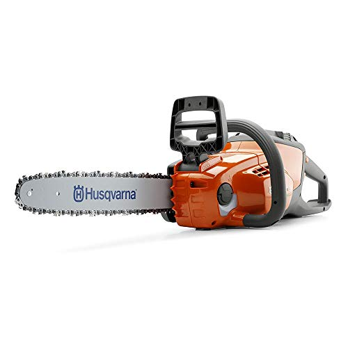Husqvarna 120i, 14 in. 40-Volt Cordless Chainsaw (Battery included) (Renewed)