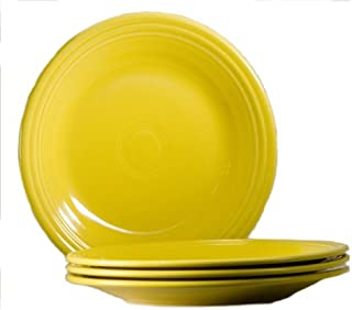 product image for Fiesta 10-1/2-Inch Dinner Plate, Sunflower, Set of 4
