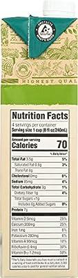 365 Everyday Value, Organic Soy Milk, Unsweetened, 32 fl oz