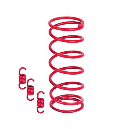 Ketofa Gy6 125cc Clutch Springs 2k RPM Performance Tourque Red for Scooter 150cc ATV Clutch Springs