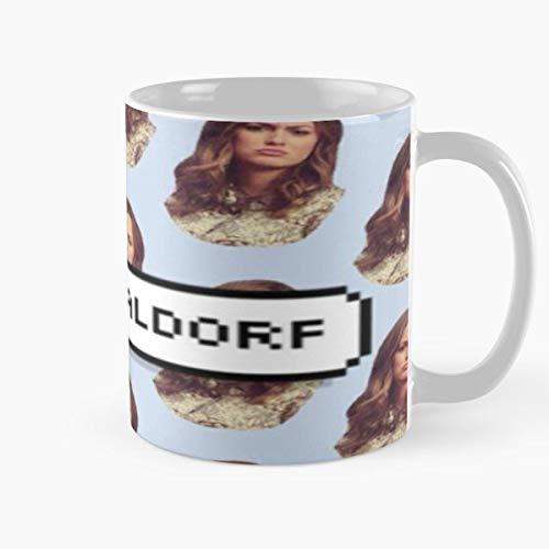 Blair Waldorf Gossip Girl Serena Vanderwoodsen Xoxo - Coffee Mug-11 Oz,white Unique Birthday Gift-the Best Gift For Holidays.