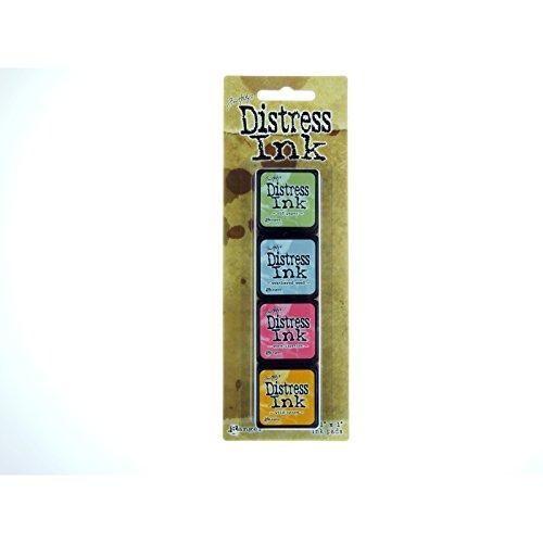 Ranger Distress Mini Ink Kit, (Mini Scrapbooking Kit)