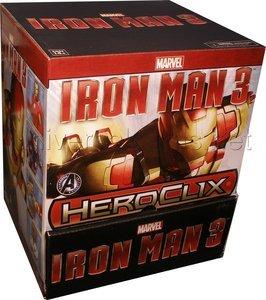 Marvel Heroclix Iron Man 3 Movie 24 Ct Gravity Feed Display