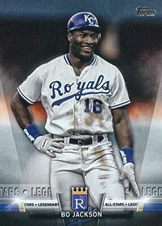 check out e651f c56bd 2018 Topps Update Salute  S-5 Bo Jackson Kansas City Royals Baseball Card