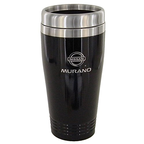Nissan Murano Black Travel Mug (Thermos Tumbler Travel Nissan)