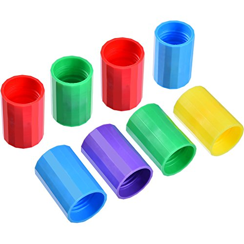 - TecUnite 8 Pieces Bottle Connectors Tornado Connector Cyclone Tube for Scientific Experiment and Test, 5 Colors