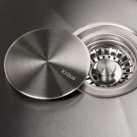 KRAUS Garbage Disposal, Drain Cover, works in any Kitchen ()