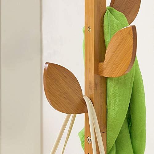 Appendiabiti in bamb/ù per Appendiabiti da Ufficio per Camera da Letto Nevy Marche Stendibiancheria Colore : A