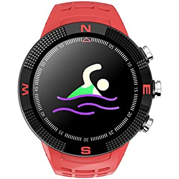 GPS Tracker Compass Sports Tactical Bluetooth Smart Watch Heart Rate Monitor Pedometer Waterproof Swimming Fitness Tracker