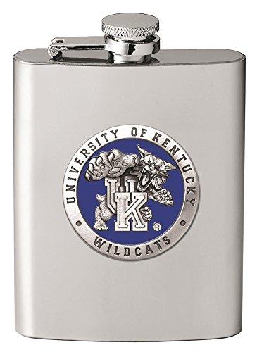 (Heritage Pewter Kentucky Wildcats Flask)