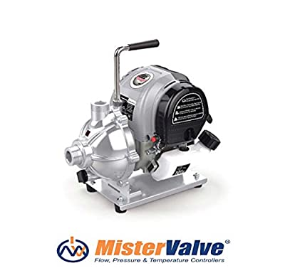 Mistervalve Portable Gasoline Water Pump Model XG 10 irrigation pumps, washing systems, water supply systems, water treatment plants