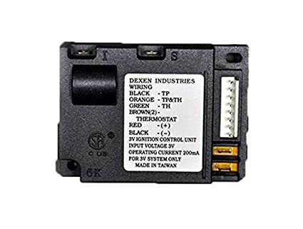 Hearth Products Controls Dexen Electronic Ignition Valve Control Module  (350-M)